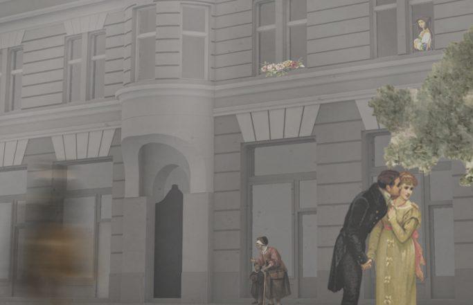 Budapest VI. – századvégi bérház homlokzatfelújítása