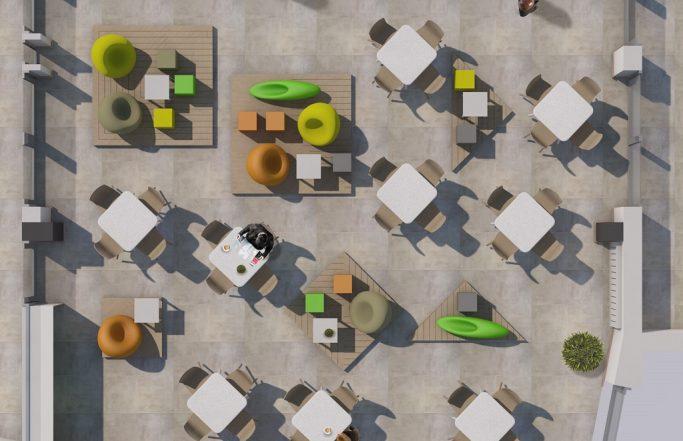 Monor – Városi Sportcsarnok termének berendezése